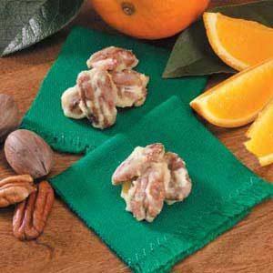 Orange-Sugared Pecans