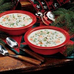 Creamy Turkey Soup