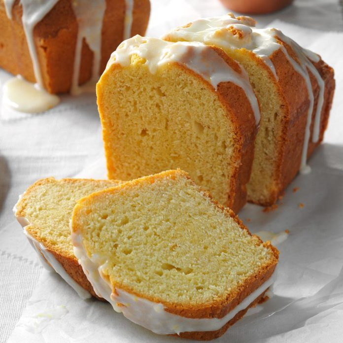 Lemon Pound Cake Loaves