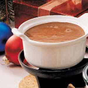 Chocolate Mallow Fondue