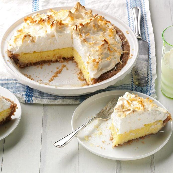 Irresistible Coconut Cream Pie