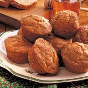 Banana Wheat Muffins