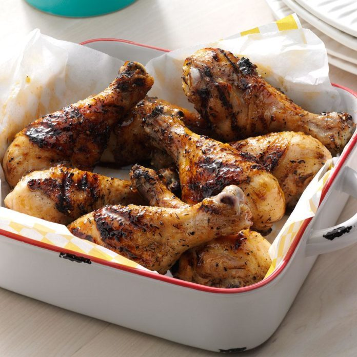 Honey Thyme Grilled Chicken