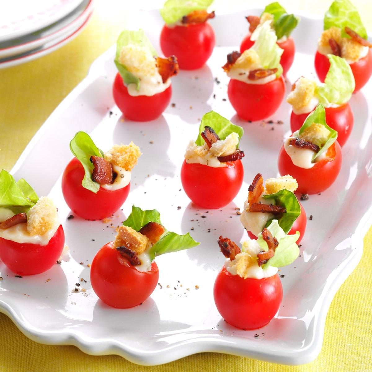 Party Food Spread For Kids: Mini BLT Appetizers Recipe