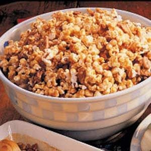 Nutty Toffee Popcorn