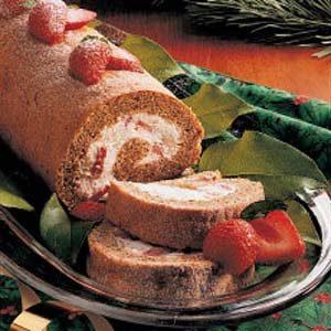 Strawberry Nut Roll