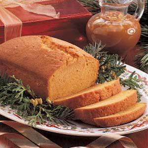 Pumpkin Spice Pound Cake