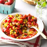 Strawberry Corn Salsa
