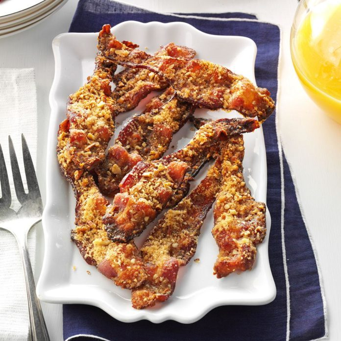 Father's Day Brunch: Pecan Bacon
