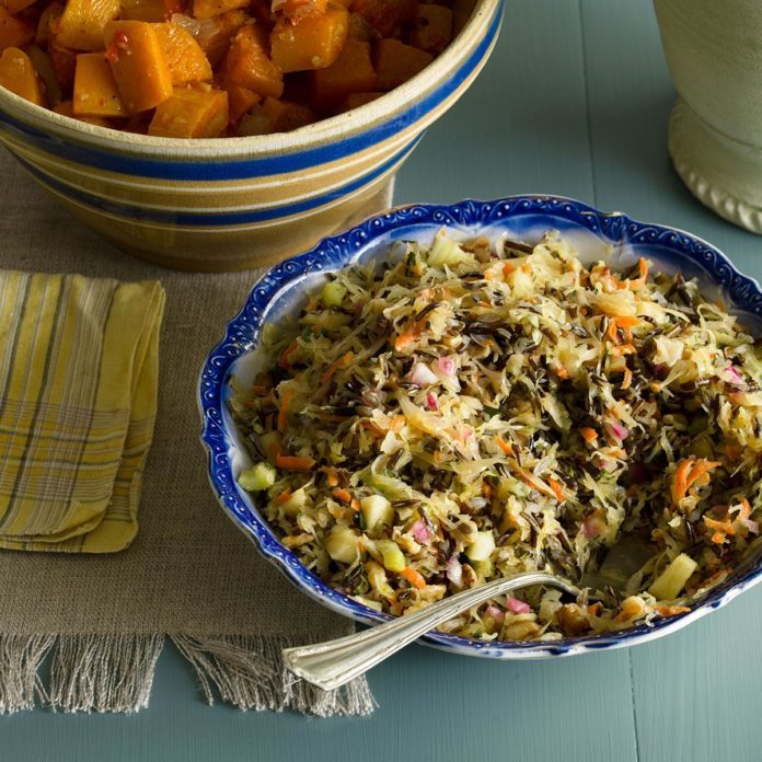 Minnesota: Northwoods Wild Rice Salad