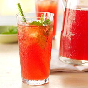 Rhubarb Mint Tea
