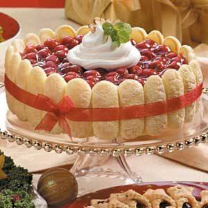 Cherry Cream Torte