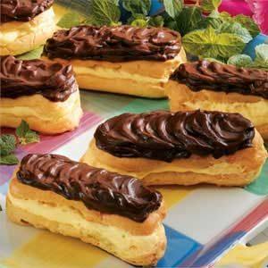 Sugar-free Chocolate Eclairs