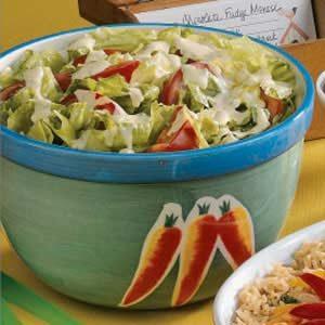 Honey-Mustard Tossed Salad