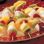 Christmas Fruit Kabobs