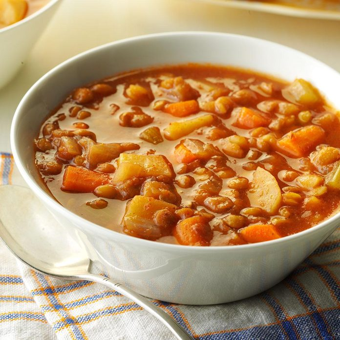 Spicy Lentil Soup