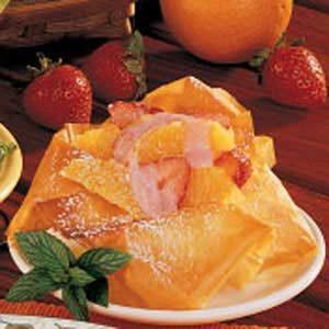 Strawberry-Orange Phyllo Cups
