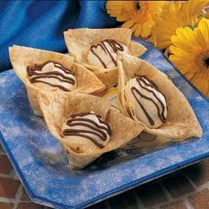 Tortilla Dessert Cups