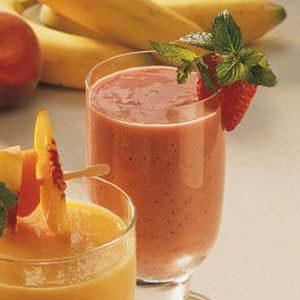 Strawberry Yogurt Smoothies