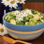 Sprouts with Sour Cream