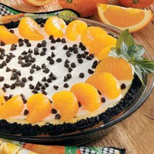 Orange Chip Cheesecake
