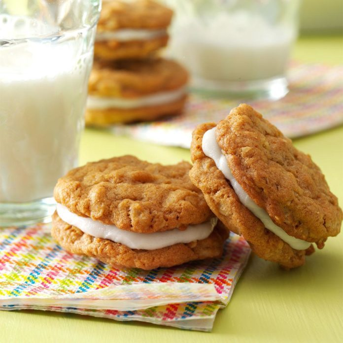 Day One: Oatmeal Sandwich Cookies