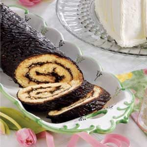 Lincoln Log Cake