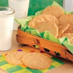 White Chocolate Oatmeal Cookies