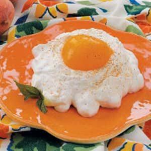 Fried Egg Peaches