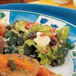 Veggie Spinach Salad