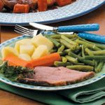 Ham with Vegetables