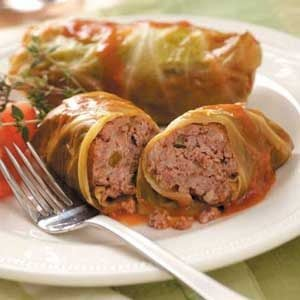 Slow-Cooked Cabbage Rolls