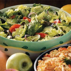 Salad with Vinaigrette