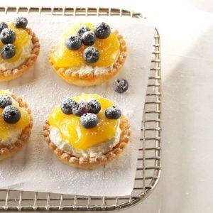 Lemon Cheesecake Tarts