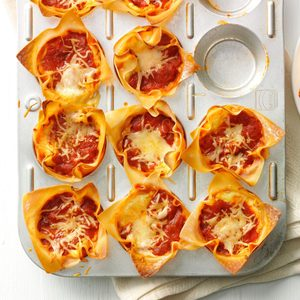 Muffin-Tin Lasagnas