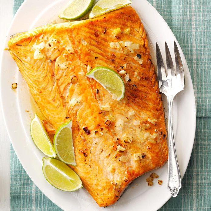 Garlic Lime Salmon
