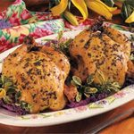 Herb-Roasted Game Hens