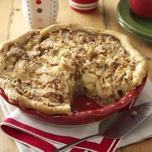 Apple Jack Crumb Pie