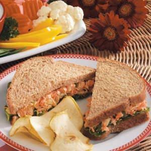 Garden Tuna Sandwiches
