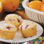 Sugared Rhubarb Muffins