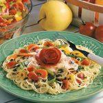 Angel Hair Pasta with Garden Vegetables