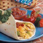 Suppertime Egg Burritos