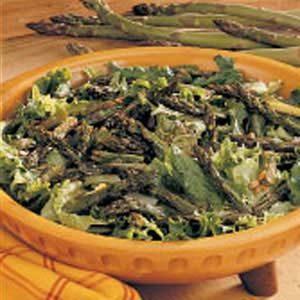 Light Roasted Asparagus Salad