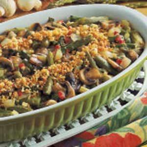 Asparagus Mushroom Casserole