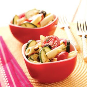 Grilled Corn Pasta Salad