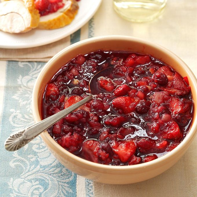 Pineapple-Strawberry Cranberry Relish