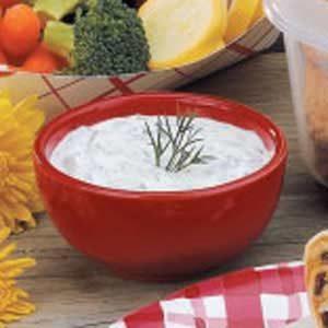 Sour Cream Dill Dip