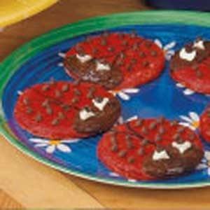 Homemade Ladybug Cookies