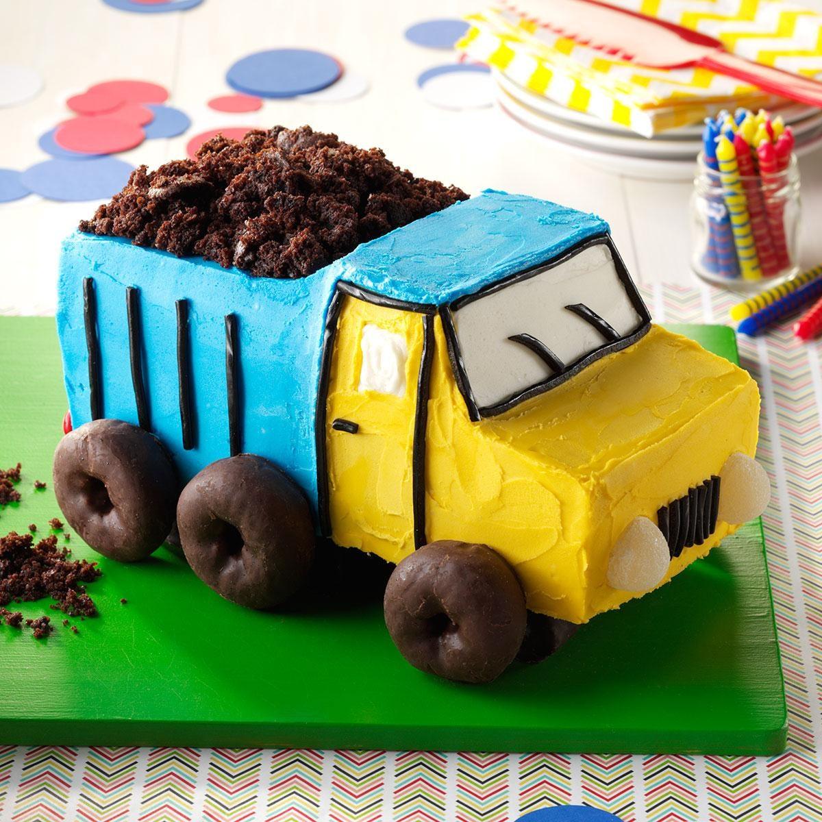 Dump Truck Cake Recipe
