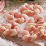 Braided Sweetheart Cookies